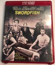 Swordfish HD DVD John Travolta, Hugh Jackman, Halle Berry, Don Cheadle