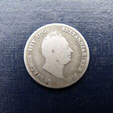 More details for 1835 silver threepence william iv receive the coin pictured free uk p&p