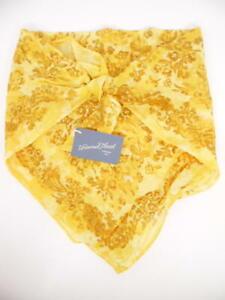 Universal Thread Women's Floral Print Bandana - Yellow - One Size