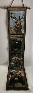 Bell Pull Northwest Animals Banner/Tapestry