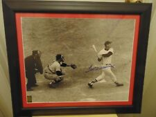 "COLLECTOR EDITION! TED WILLIAMS ""LAST HOME RUN"" SIGNED 16x20 Photo -CUSTOM W/COA"