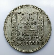 1933 France Twenty 20 Francs EF - Lot 164