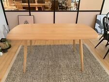 Ercol 3465 Shalstone Fixed Top Dining Table DM Finish - FREE DELIVERY