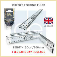 Folding Ruler Helix Oxford CM and MM 30cm For School and Office