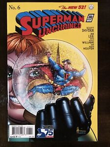 SUPERMAN UNCHAINED #6 1:100 VARIANT DC COMICS NM