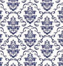 Klebefolie - Möbelfolie Ornamente Weiss Blau - 45 cm x 200 cm Dekorfolie Folie