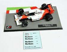 Ayrton Senna 1988 McLaren MP 4-4 Marlboro Decals 1:43 Formula 1 Car Collection