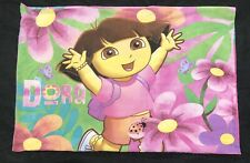 Dora the Explorer & Boots Monkey Nickelodeon Standard Pillow Case Double Sided