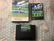 Top Player's Golf CIB w/game, instruction manual, case U.S. for the Neo-Geo AES