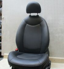 2014 BMW MINI COOPER DRIVER LEFT LH FRONT BLACK LEATHER SEAT + HEADREST OEM