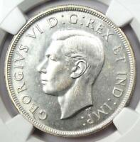 1947 Canada George VI Dollar $1 (Blunt 7) - NGC Uncirculated Details (UNC MS)