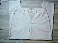Coldwater Creek Women's Denim Jeans - White - Size 14 - Excellent - New!
