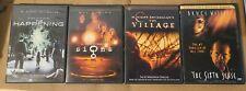 M. Night Shyamalan Movie Lot- The Happening, The Sixth Sense, The Village, Signs
