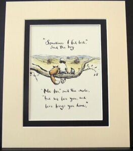 "The Boy The Mole The Fox The Horse - Charlie Mackesy - 12"" X 10"" Double Mount Re"