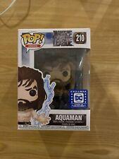 Funko Pop! Aquaman (Summoning Wave) #210 Justice League Dc Legion of Collectors