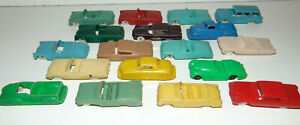 Tootsie/F&F Mold/Renwal FORD Cereal Premiums Plastic Cars 1950's 50's Jaguar LOT