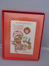 Vintage 1981 Strawberry Shortcake Cooking Corner Recipe book - unused w box