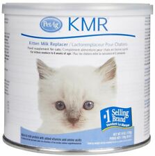 KMR Natural Milk Kitten Formula Replacer Powder Cat Supplement 6oz PetAg