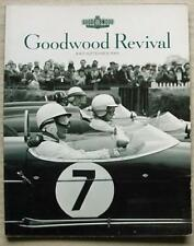GOODWOOD REVIVAL Motor Sport A4 Official Programme 2003