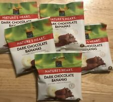 Natures Heart Raw Chocolate Bananas 30g (Pack of 5) Vegan Friendly
