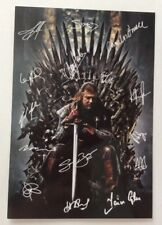 Sean Bean Game Of Thrones Signed Cast Printed Photo 6x4