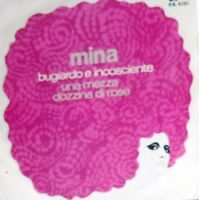 """MINA BUGIARDO E INCOSCENTE   7"""" ITALY 1970 MARTELLI"""