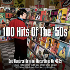 100 Hits Of The '50s - One Hundred Original Recordings 4CD NEW/SEALED