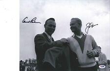 Arnold Palmer & Jack Nicklaus signed 11x14 photo PSA DNA COA
