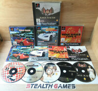 Ridge Racer Collection + Rage Racer Bundle of 4 Ps1 Games PAL Sony Playstation 1