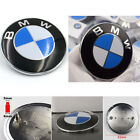 NEW Car Emblem Chrome Front Badge Logo 82mm 2 Pins For BMW Hood/Trunk OEM