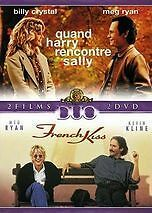 DVD *** Quand Harry rencontre Sally + French Kiss ***