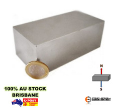 "1X Powerful Rare Earth Magnet 3"" X 2"" X 2"" 