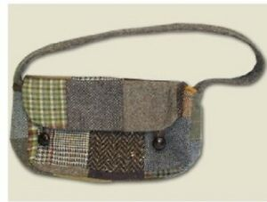 Donegal Patchwork Tweed Leda Bag
