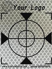 Mass angefertigt Reflex Zielmarken Mit Logo 60mm 500 Stück , Total Station, GPS