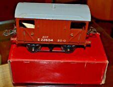 Vintage Boxed Hornby Trains O Gauge Goods Brake Van; Good Condition