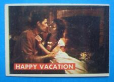 1956 Topps Disney's *DAVY CROCKETT - 2nd Series/Green* Card # 24A Happy Vacation