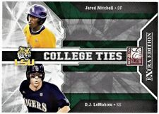 2009 Donruss Elite College Ties D.J. LeMahieu / Jared Mitchell #15