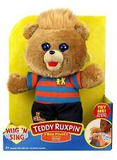 Teddy Ruxpin Bear Best Friend Hug N Sing Plush Sings Clips of My Friend Nib