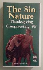 jimmy swaggart THE SIN NATURE thanksgiving campmeeting '96 1996  VHS VIDEOTAPE