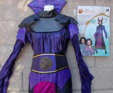 Maleficent Adult Costume Disney Descendants Black Purple Dress No Headpiece