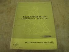 Heathkit GR-88 original manual, checkboxes ticked