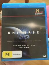 the universe in 3D how the solar system was made 3D bluray
