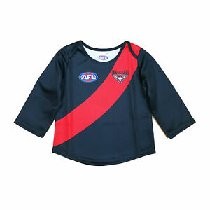 Essendon Bombers AFL Footy Baby Toddler Football Jumper Guernsey   Year 3