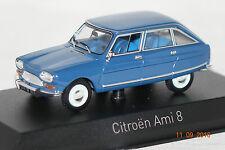 Citroen Ami 8 1969 danube blau 1:43 Norev neu + OVP 153536