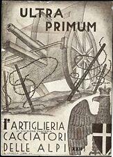 """1936 - 1 Regg. Artiglieria di divisione Fanteria - """"Ultra Primum"""""""