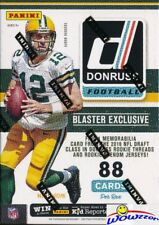 2016 Donruss Football EXCLUSIVE Factory Sealed Blaster Box-MEMORABILIA Card !