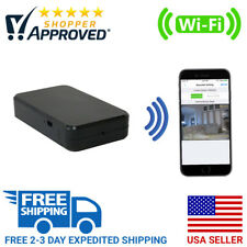 SpygearGadgets 1080P HD WiFi Internet Streaming Black Box Hidden Nanny Camera
