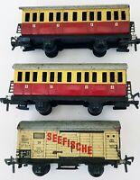 Fleischmann, US. Zone Germany -   Tin wagons set