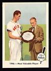 1959 FLEER TED WILLIAMS #32 1946 - MOST VALUABLE PLAYER W/JOSEPH CASHMAN