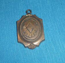 168A Médaille Pendentif en Plastique Imitation Cuivre